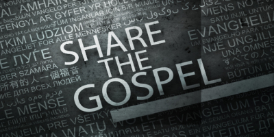 """Because the gospel was shared...."""